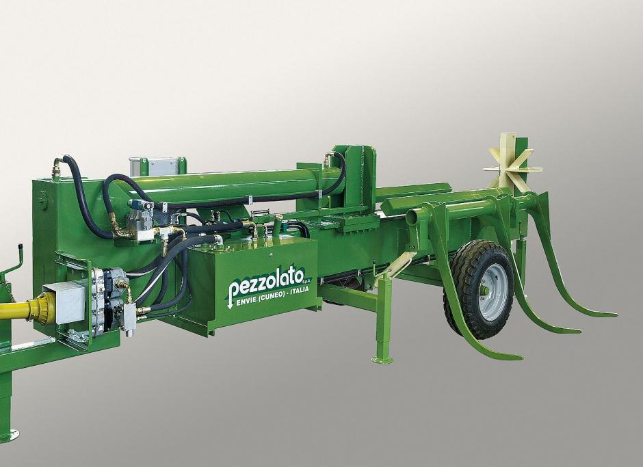 Spaccalegna Orizzontale Professionale 50 Ton Impianto