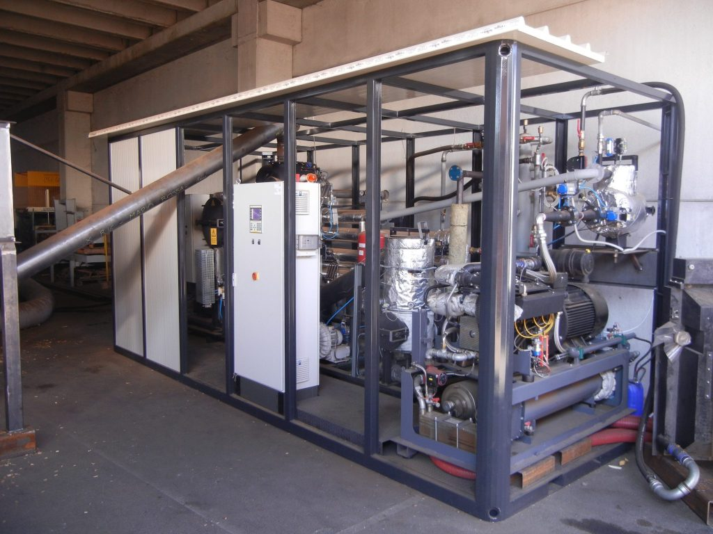 Spanner RE2 gasifier and cogeneration motor