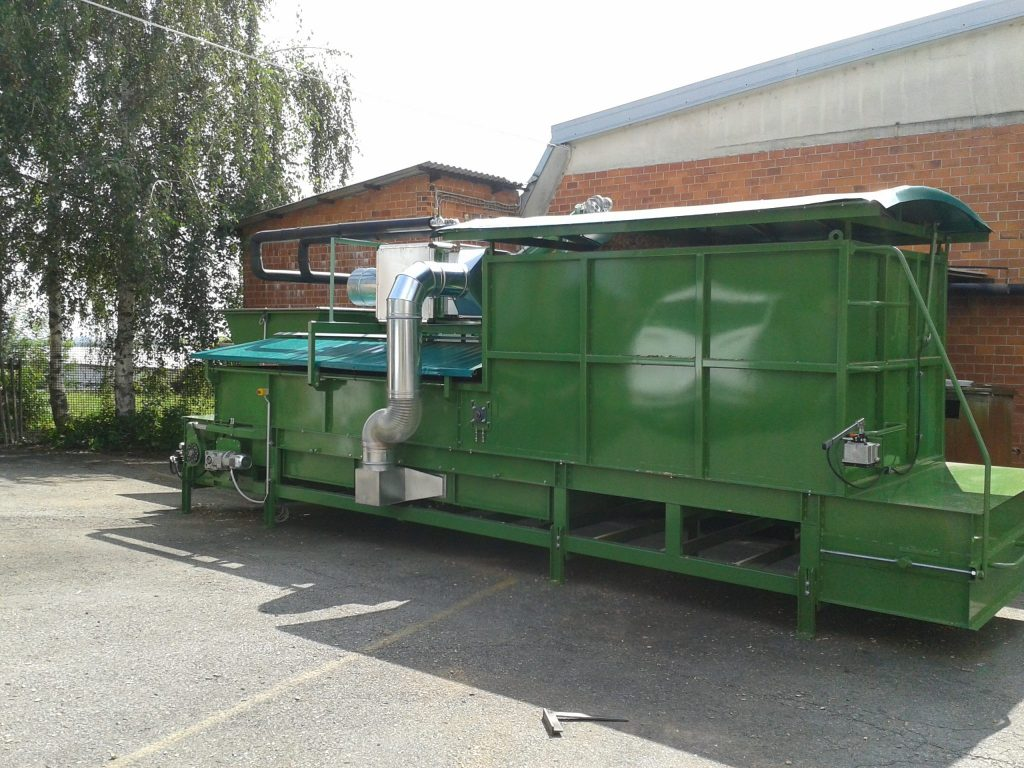 Pezzolato wood chips dryer